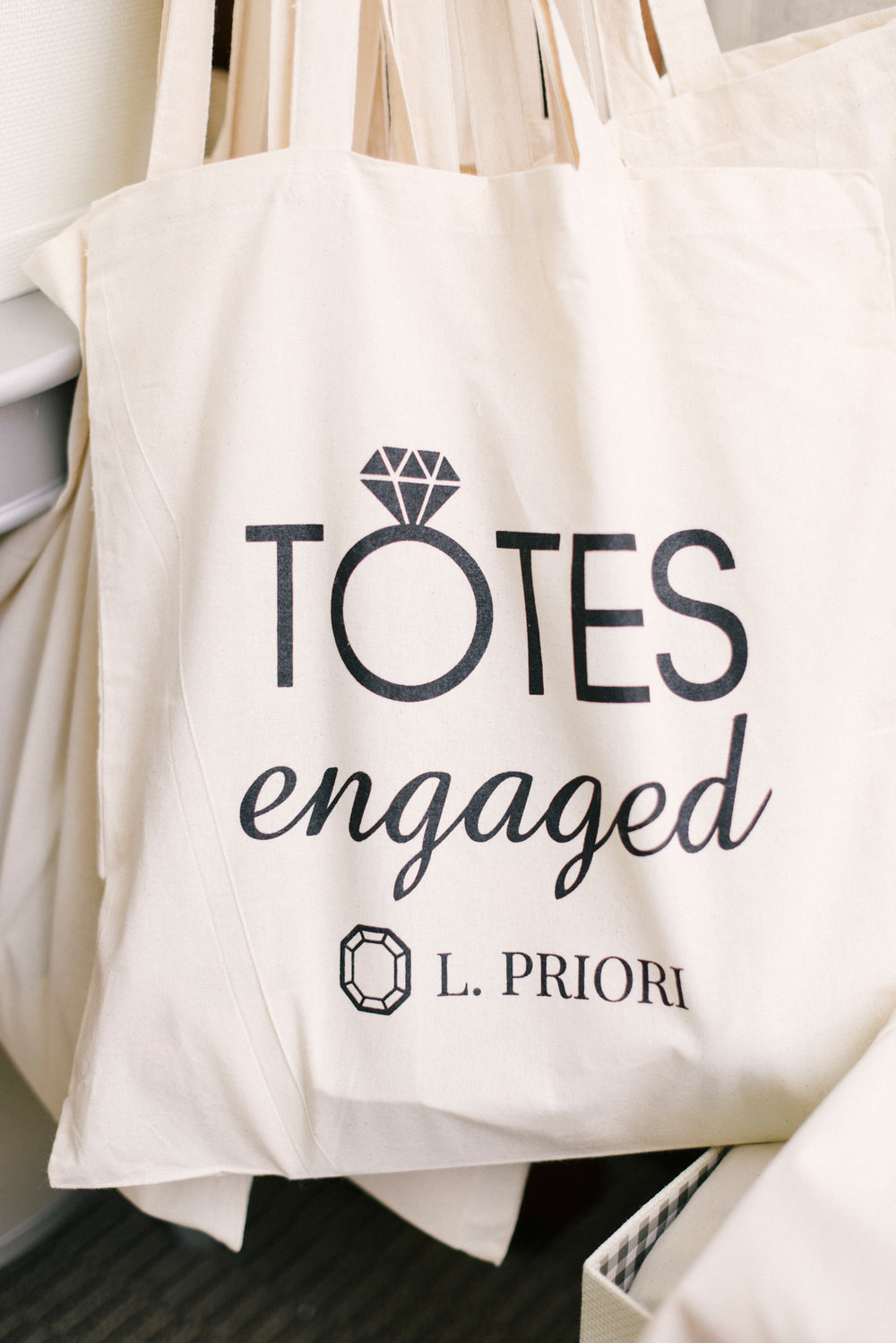 Totes Engaged Bag from L. Priori Jewelry.jpg