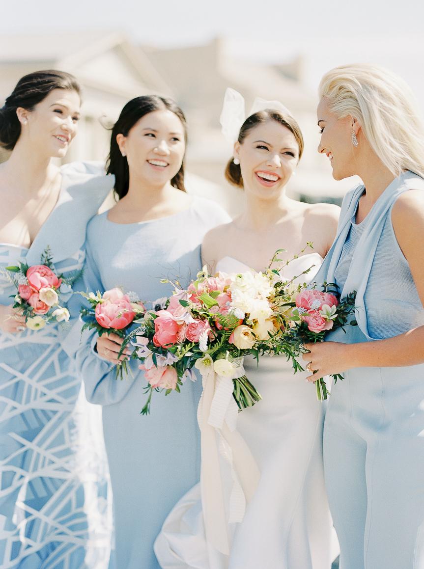 Modern and Stylish Bridesmaids Dresses