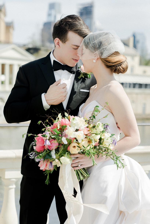Water Works Wedding Inspiration