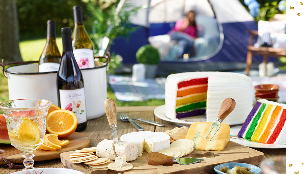 Glamping Trousseau Style