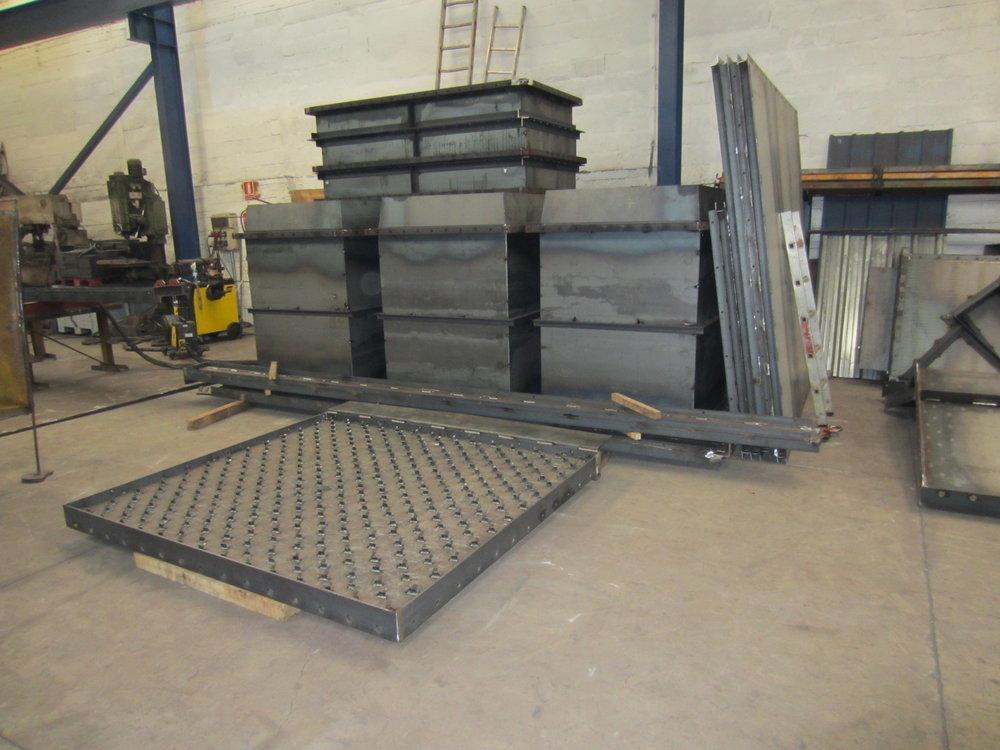 Estructuras metálicas y mantenimiento industrial