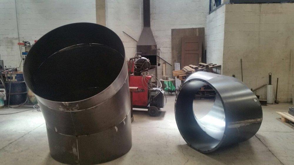 Fabricación de conductos para planta de aglomerado