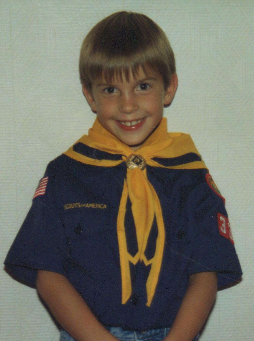 Me as a Cub Scout
