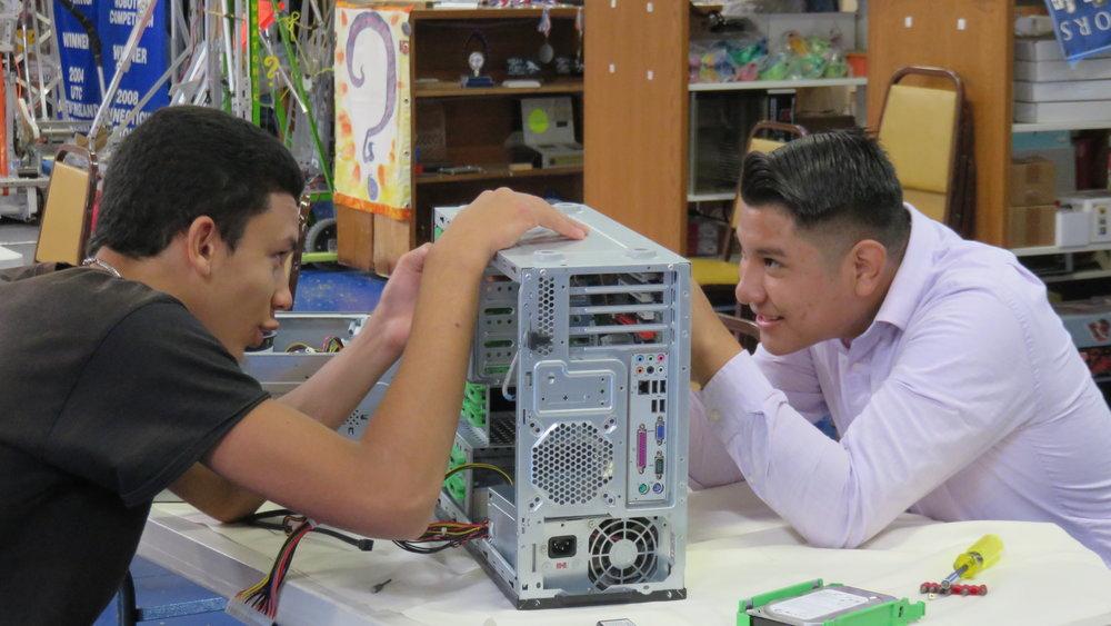 Taking apart a computer.JPG