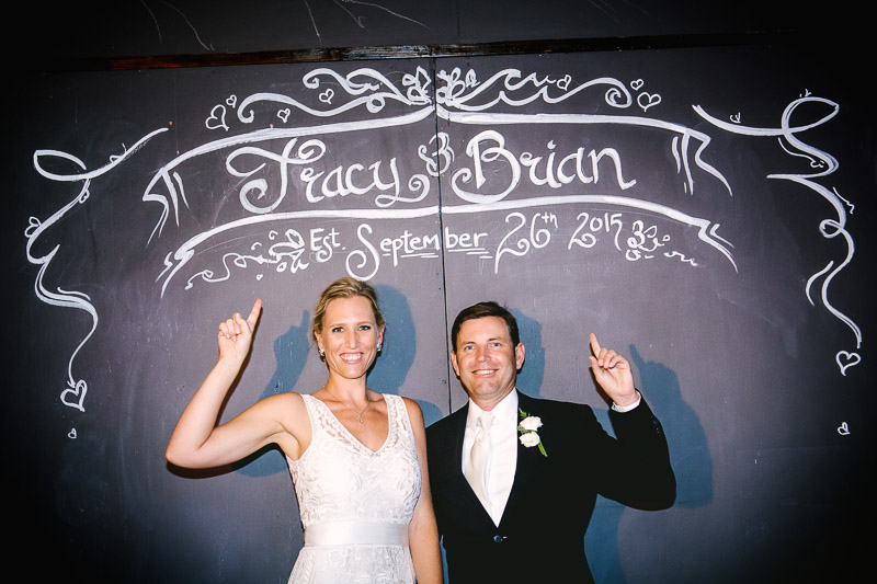 Tracy +  Brian.  Wedding.