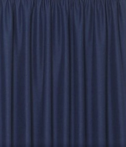 Navy Blue Curtain