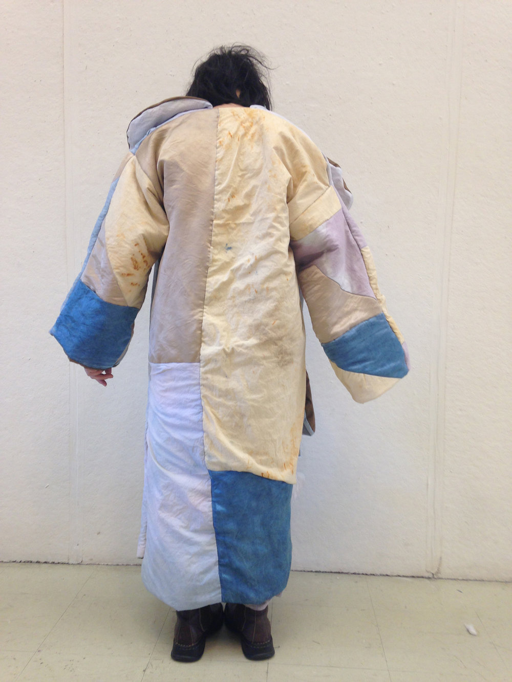the librian's coat    (back view)
