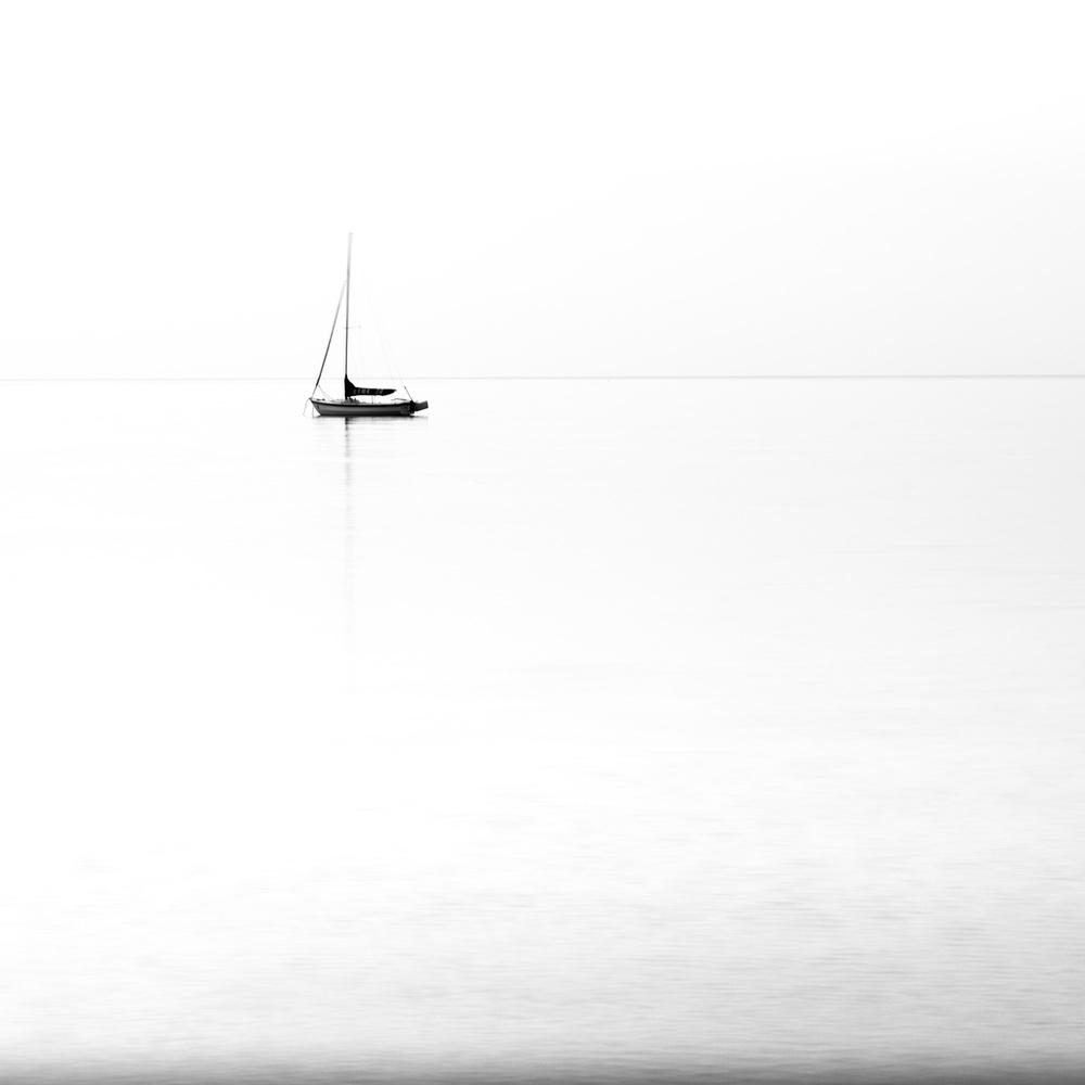 Boat at dawn