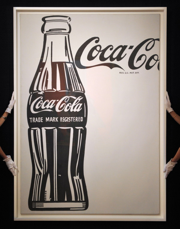 Coke Bottle, Andy Warhol / Getty Images