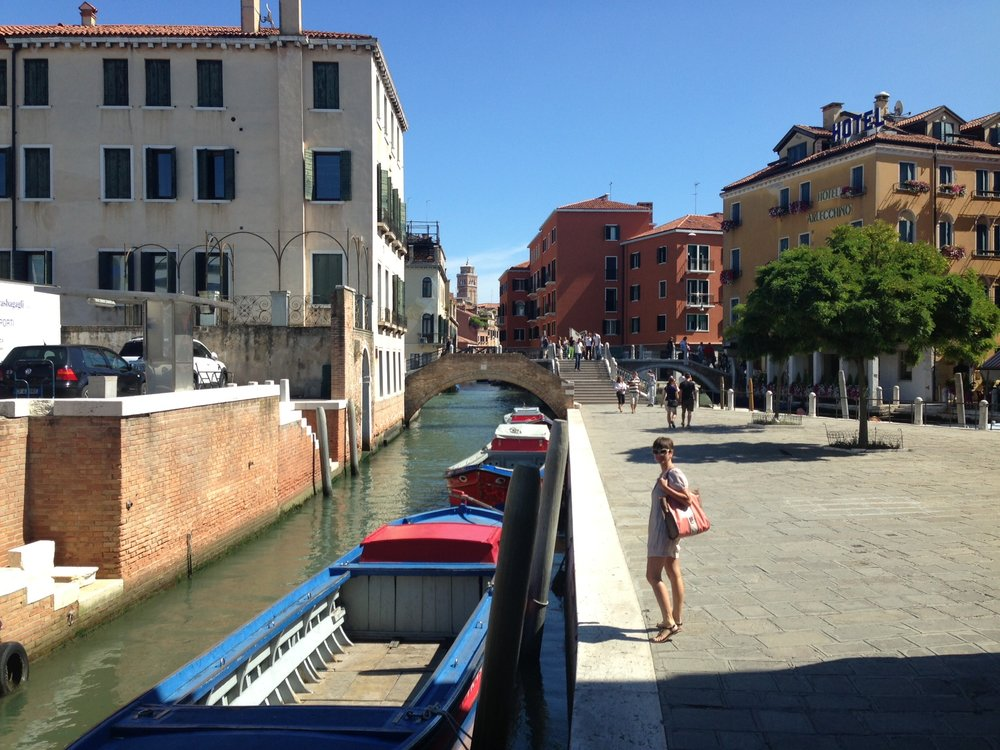 Starting Venice adventure, 2013