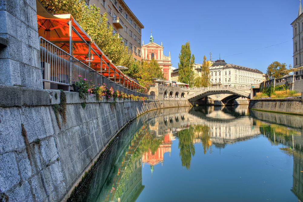 Bridge over Ljubljanica, Mihael Grmek