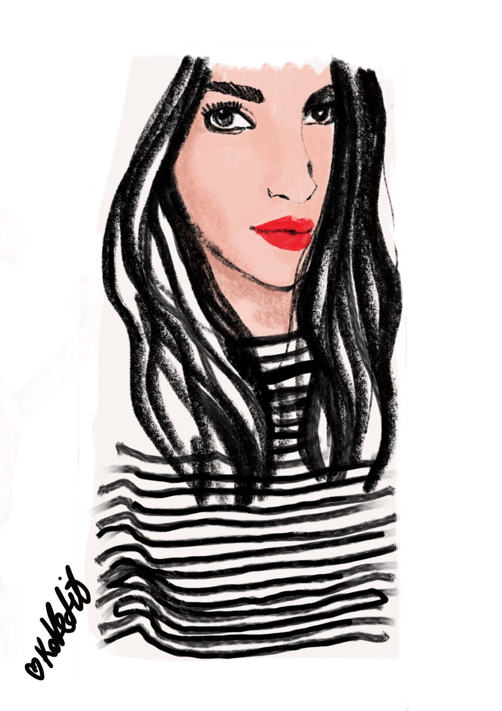 Shira Barzilay - Fashion Illustration Master from Israel