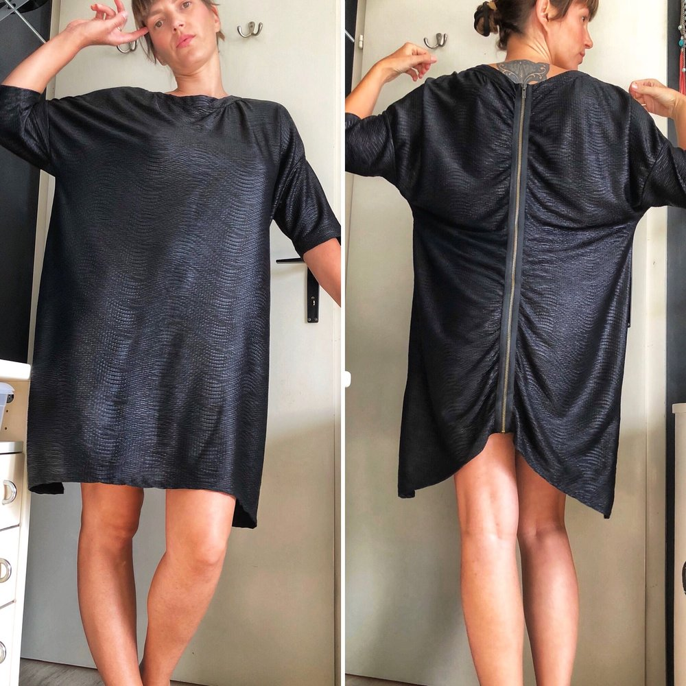 Oversized Zara tunic dress