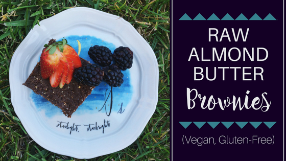 Raw-Almond-Butter-Brownies