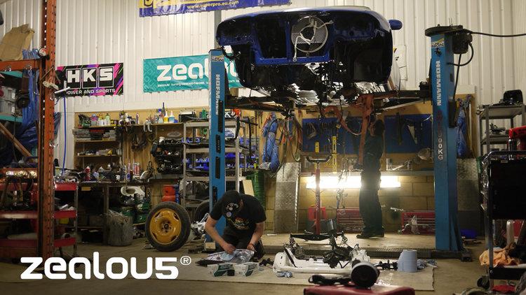 Will's R33 GTR LM rebuild of underside.