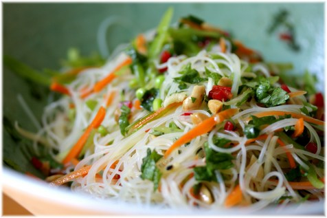 Image result for Rice And Noodles Salad
