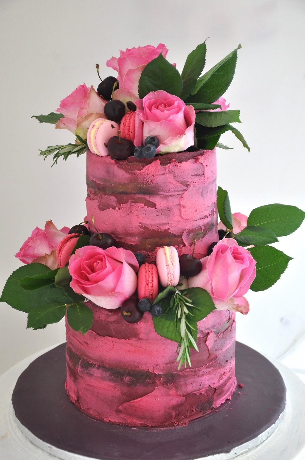 Small 2-tier Cake (6-inch & 4-inch) — Nanette\'s Kitchen