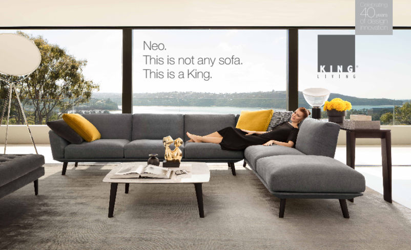 King Living Neo Sofa