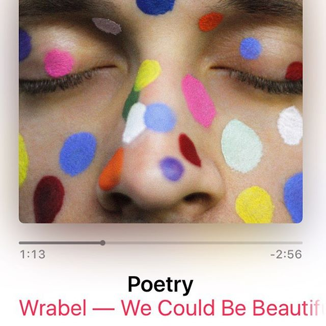 Loving this new track from @wrabel 's new EP that I got to play on and cowrite with Wrabel and @robinhannibal !! Check it out ❤️ #newmusic #studiolife #sessionguitarist #songwriter #epicrecords
