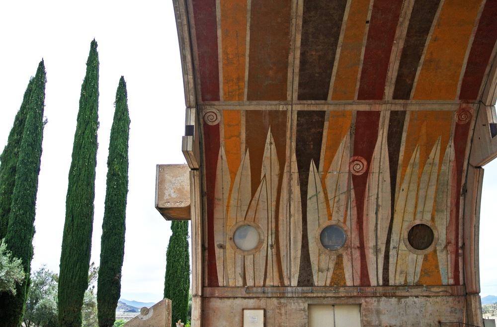 Arcosanti Vaults © Shannon Moore