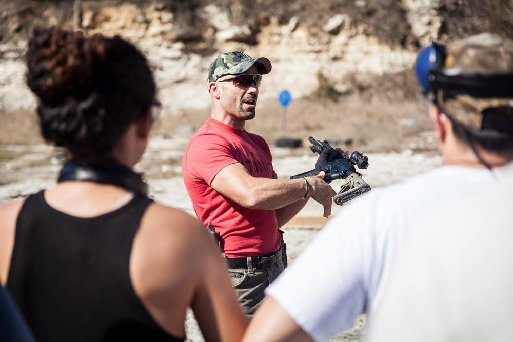 Jake Saenz - Former Rambo wanna-be in the 75th Ranger Regiment, Big Game Hunter, NRA Pistol Instructor and RSO, Owner Atomic Athlete, Purple Belt in South American Ground Karate.Read more about him…