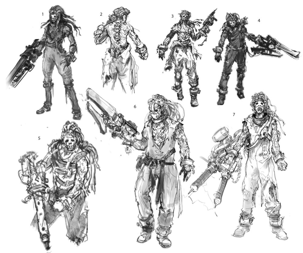 CAH第一个提交给战争机器(LawBreakers)项目的角色—— Cronos