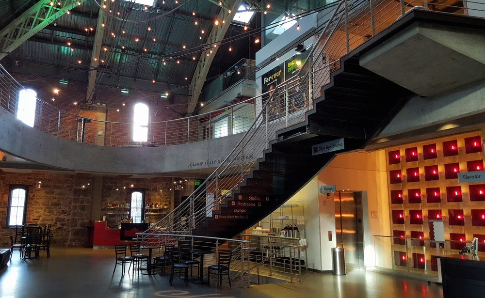 Inside Lobby, Portland armory