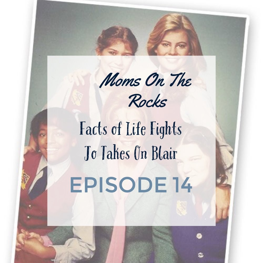 facts of life: jo takes on blair - We're alive! We're back! Apologies for being stuck in the mom zone, work chaos and back-to-school shenanigans. This is 1 of 3 episodes coming up that we have recorded, so get ready for the same chattiness and giggles you're used to! In this episode, Carrie shares a fight her son and (kinda) step son had that took place in her front yard. THis reminds Jodie of a classic fight her older sisters had that gets reignited every family holiday. We all have those, right?