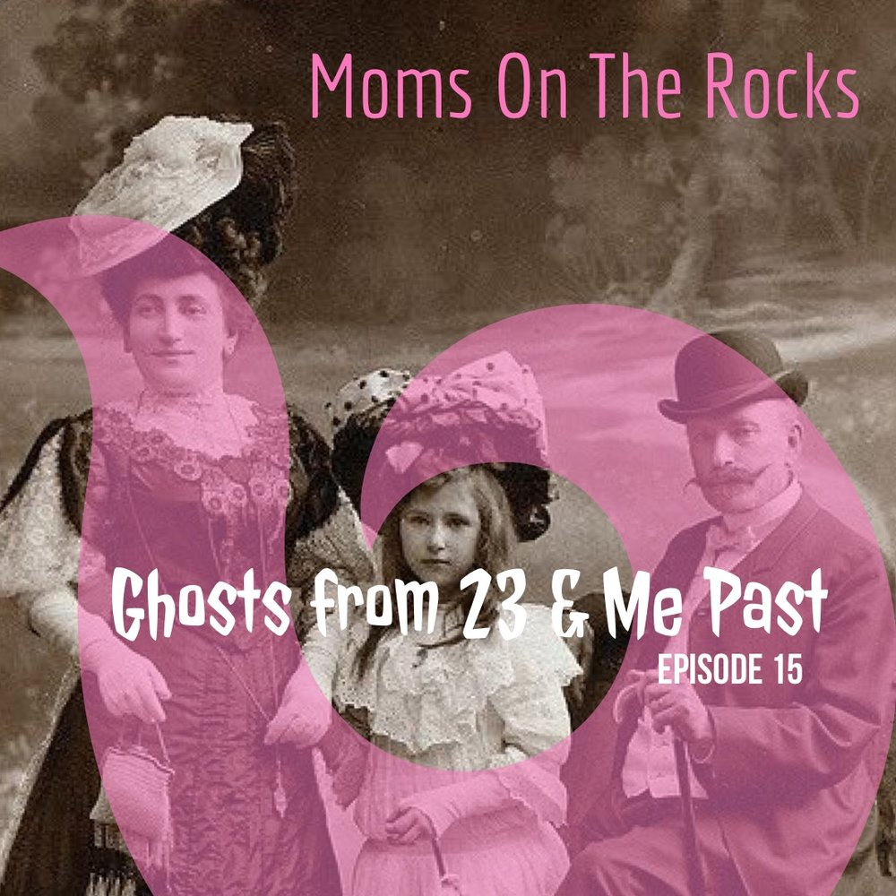 ghosts from 23 and me past - Welcome back to Moms on the Rocks. Carrie tells us how she's been feeling a bit shipwrecked on the rocks with her son's recent relapse. Raising teenagers and young adults can be a battlefield, much like Pat Benetar tried to warn us. We also talk about 23 and Me DNA tests and deep dives into Reedit stories of paranormal encounters. If that doesn't get you creeped out, Jodie and Carrie disagree on which word is more gross. Are you #TeamJodie or @TeamCarrie? Either way, you may want to want who is using your razor and clippers. Trust us….