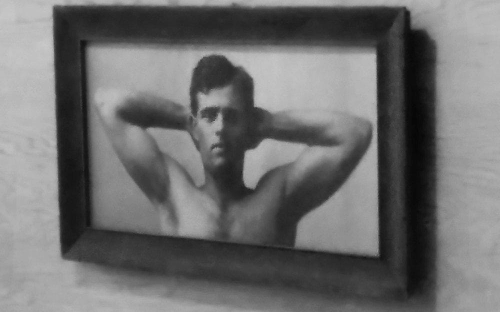 Jack posing. Vanity Fair style.