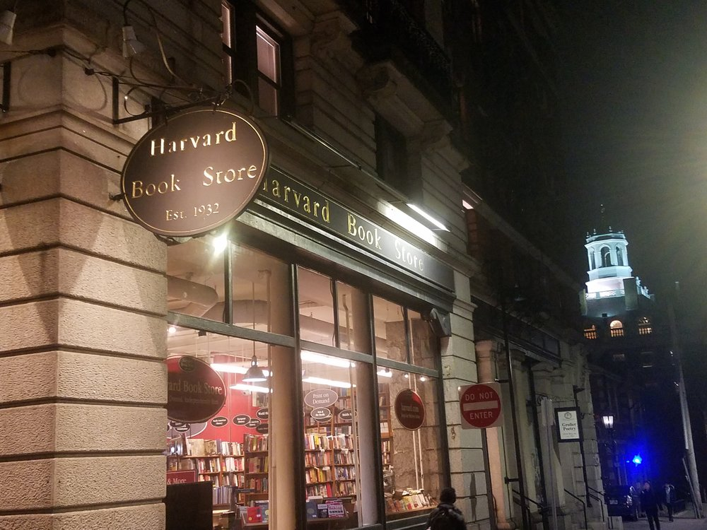 The venerable  Harvard Books . Since 1932.