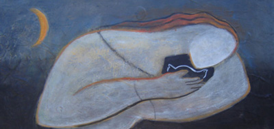 "Painting ""Embracing Peace"" by Linda G. Fisher"