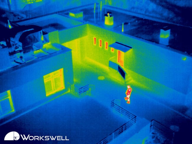 Thermal imagery Search and rescue operation