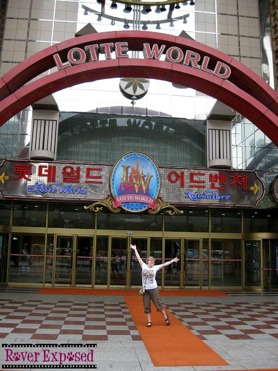 excited to visit Lotte World!