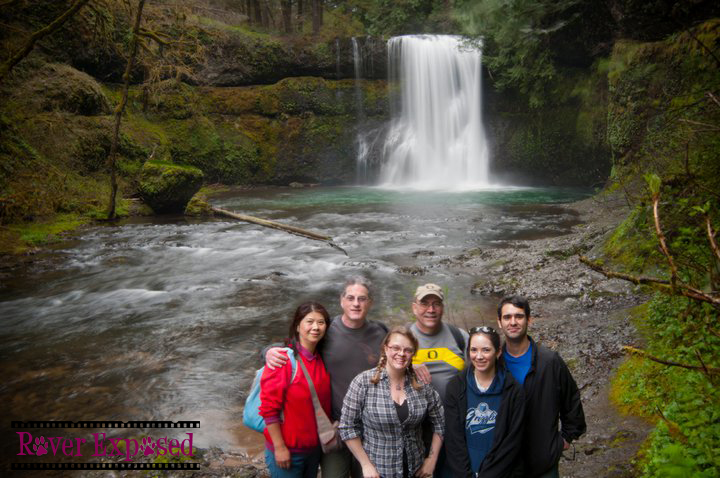 hiking Silver Falls