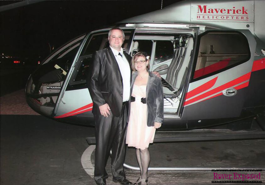 helicopter tour, Vegas Strip