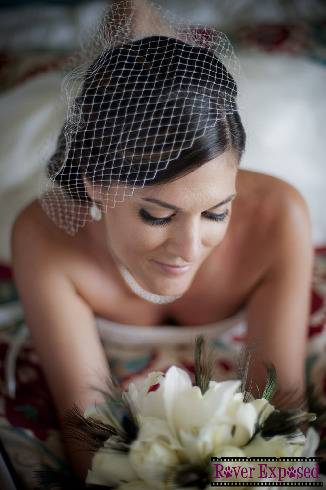 this shot would not have been as lovely without a great relationship with the bride, and the right equipment and lighting