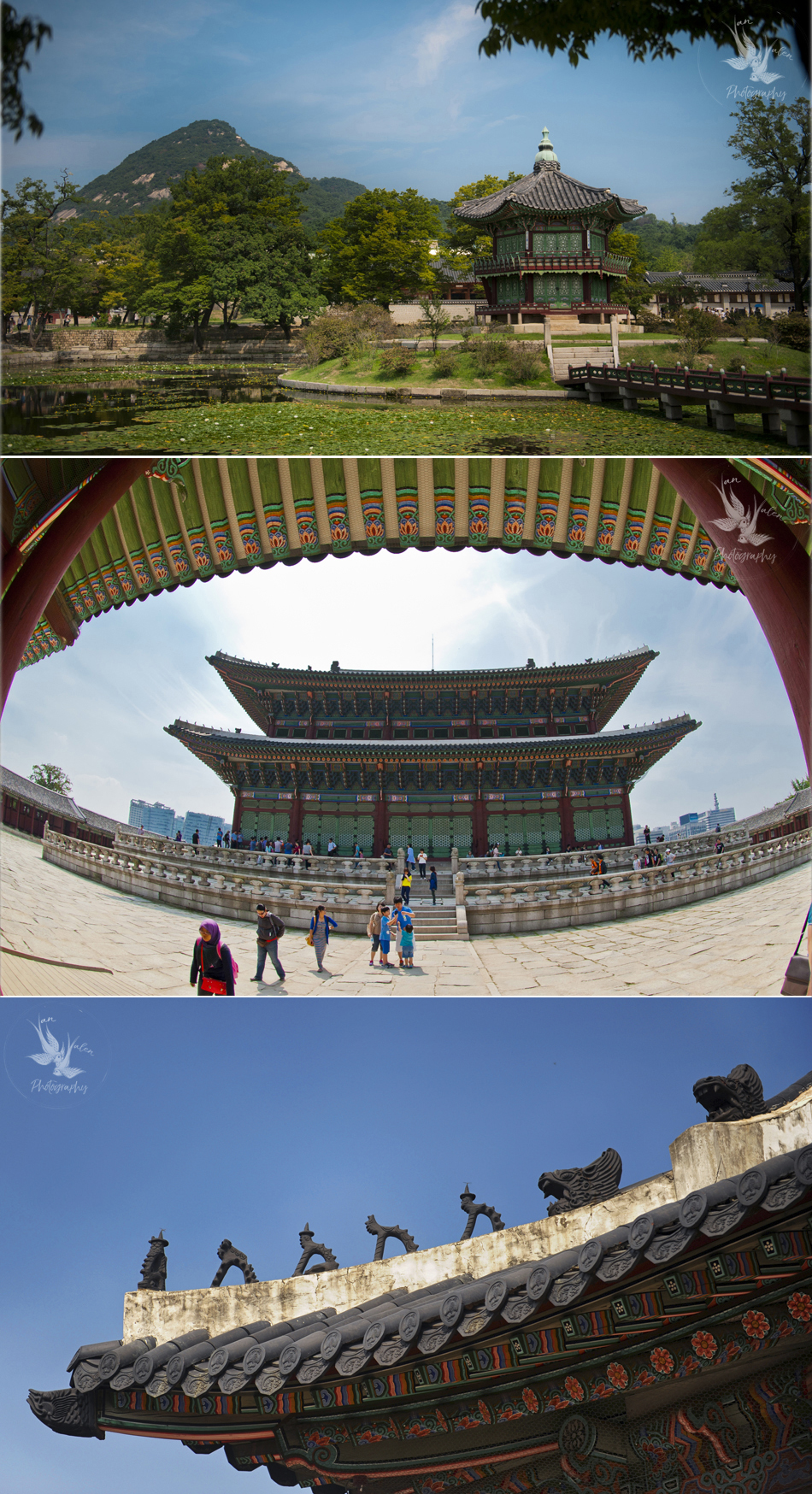 scenes from Gyeongbokgung
