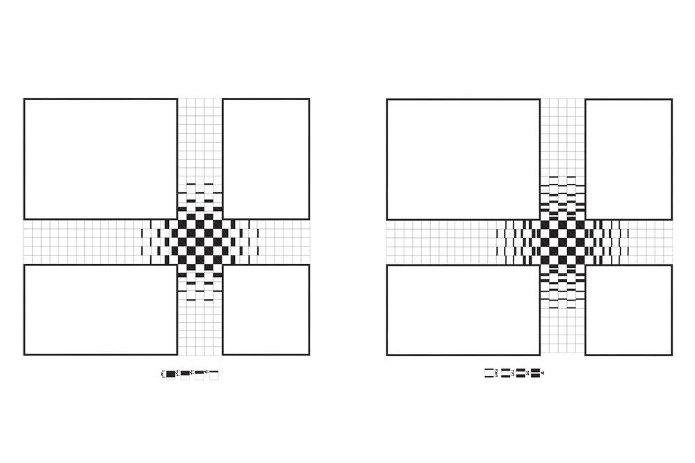 Bloomingdale's Tile Pattern Study