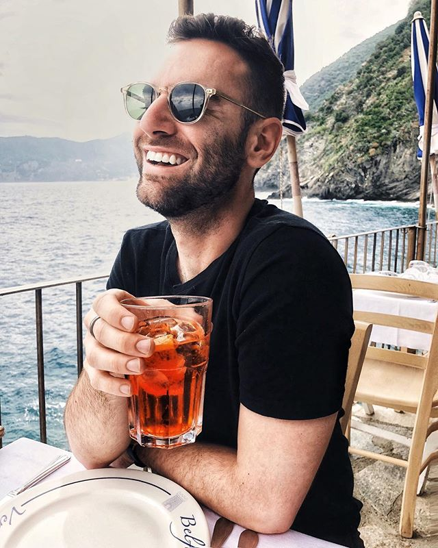 Italy. Throwback. (@aperolusa @aperolspritzofficial - please sponsor me.) #happybobby 🇮🇹🏳️🌈🍹