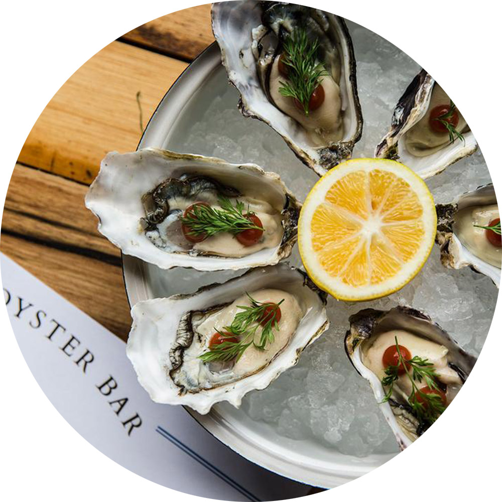 3. Oyster and Chop