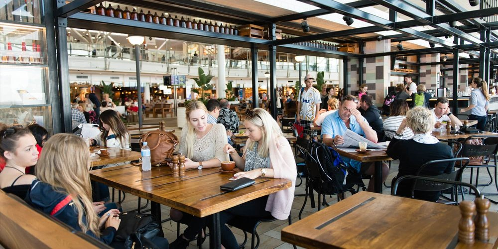 Brisbane Airport Food and Beverage Masterplanning Food Court