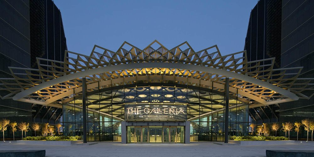 The Galleria Abu Dhabi F&B masterplanning services – shopping centre exterior