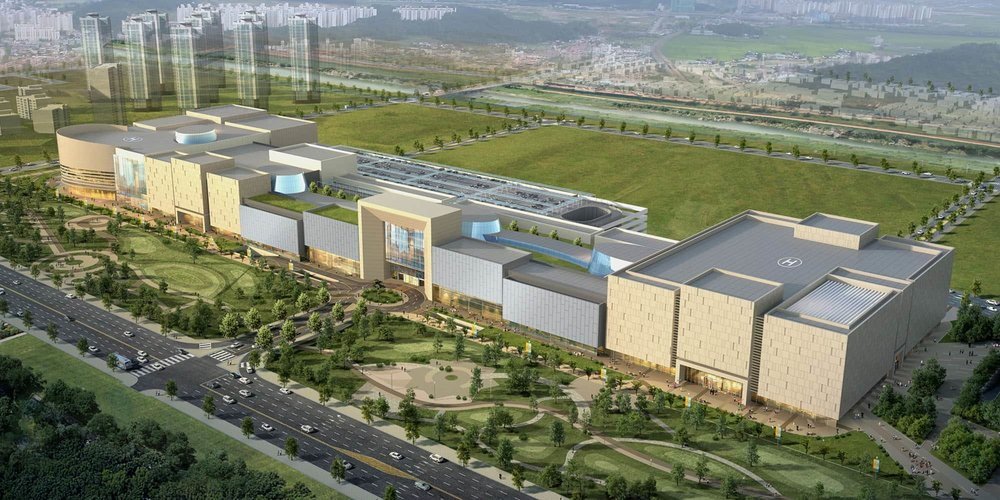 Shinsegae Samsong shopping center F&B masterplanning