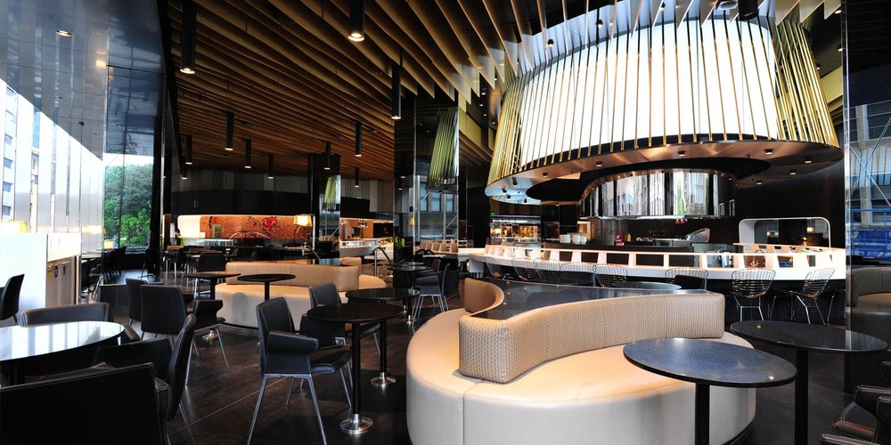 Westfield Sydney Food and Beverage Masterplanning Food Court