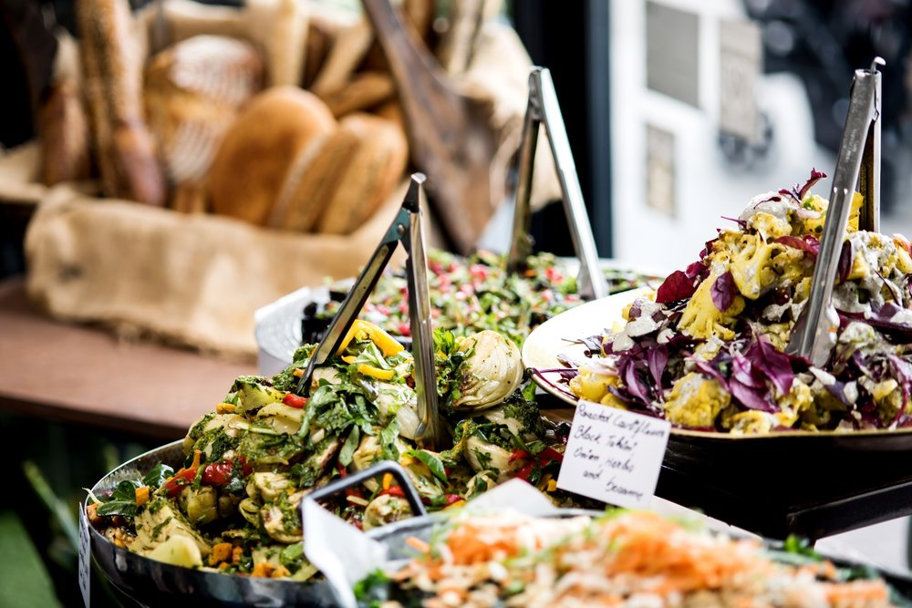 Melbourne-based caterers, The Catering Company and their healthy salad bar offer for corporate events