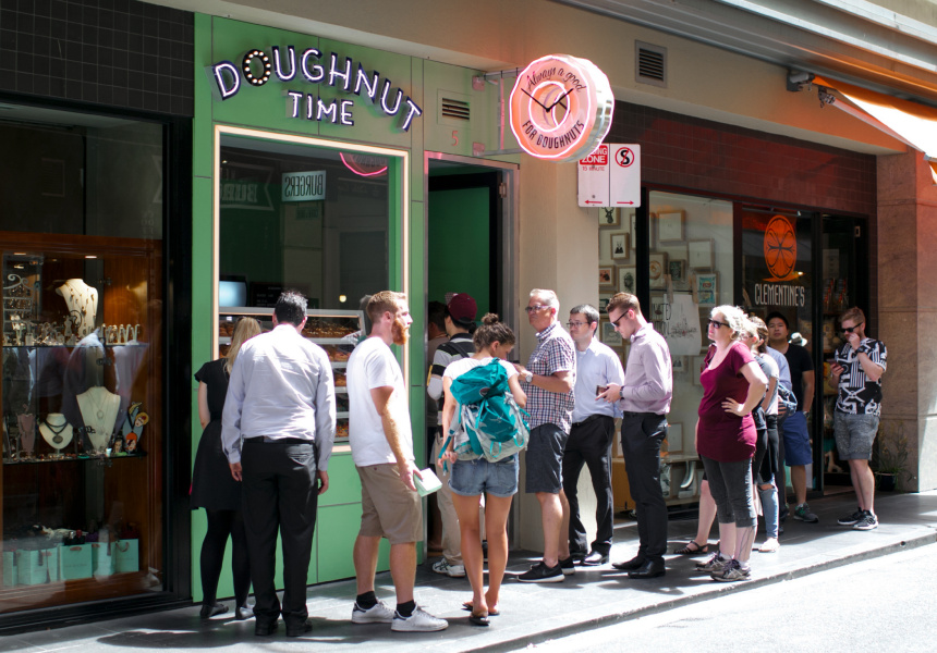 Australian-based dessert king, Doughnut Time offers free doughnuts to customers on a regular basis through social media channels such as Instagram
