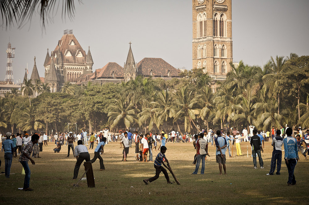 Oval Maidan, Mumbai (image via  Flickr )