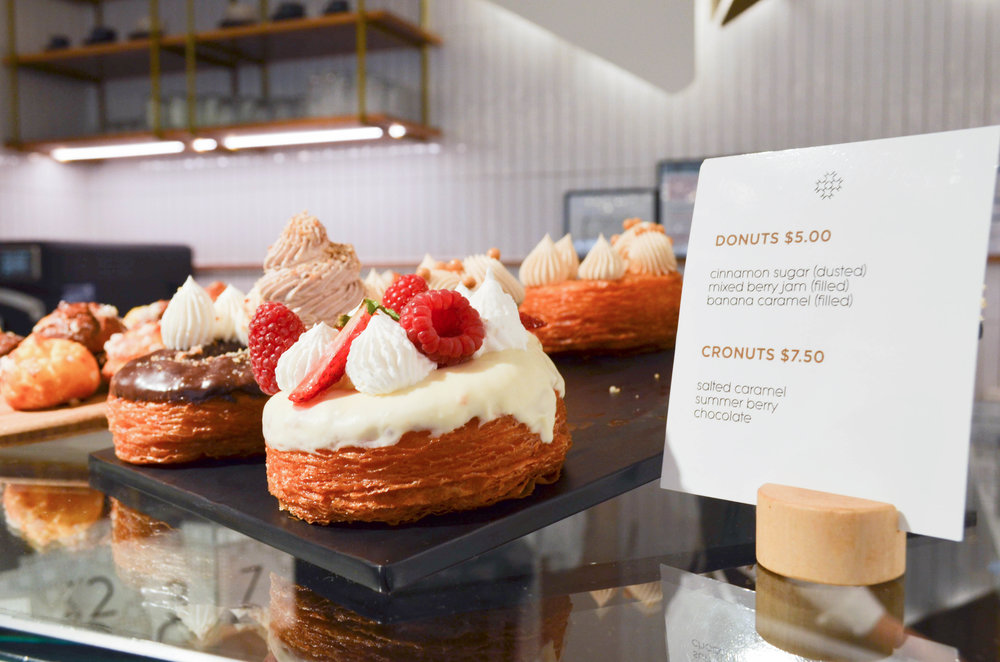 Haberdasher Cafe Melbourne Debenhams Cronut