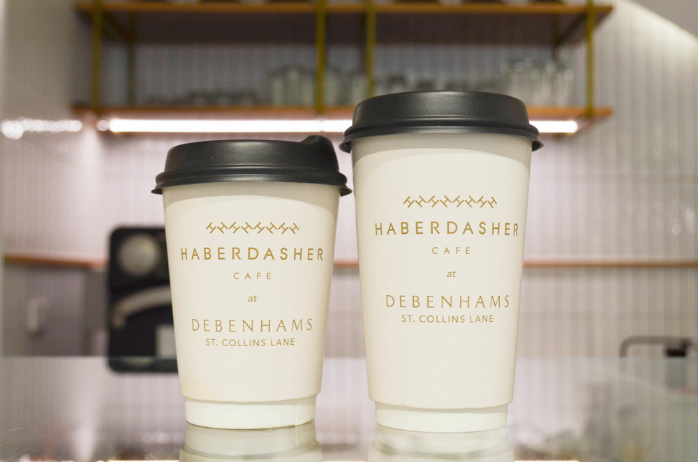 Haberdasher Cafe Melbourne Debenahms Coffee